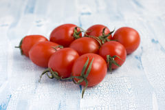 Red cherry tomatoes Stock Photos