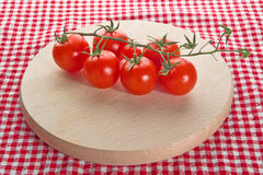 Red cherry tomatoes Royalty Free Stock Images