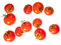 Red cherry totmatoes Royalty Free Stock Image
