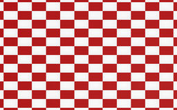 Red chessboard texture background. And racing team concept Stock Image