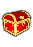 Red chest Royalty Free Stock Photos