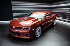 Red Chevrolet Camaro ZL1 2012 Stock Photo