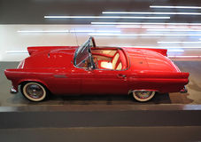 Red  Chevrolet Corvette Car. A red  Chevrolet Corvette sports car in exhibition hall Stock Photos