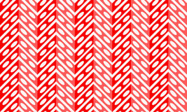 Red chevron and dots seamless background Royalty Free Stock Photography