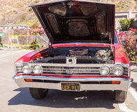 Red 1967 Chevy Chevelle SS Coupe Stock Photography