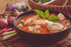 Red Chicken Curry Stock Photos