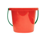 Red children bucket Stock Photography