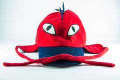 Red children cap Royalty Free Stock Images