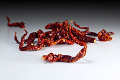 Red chili curve Stock Photo