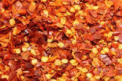 Red chili flake Royalty Free Stock Photos