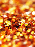 Red chili flakes Royalty Free Stock Photography