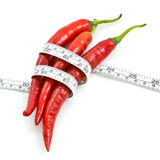 Red chili healthy Stock Image