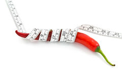 Red chili healthy royalty free stock image