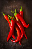 Chili peppers. Stock Images