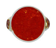Red Chili Paste Serving Dish Royalty Free Stock Photography