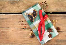 Red chili peper Stock Image