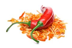 Red chili pepper concept Stock Image