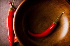 Red chili peppers  food background Stock Image