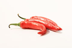 Red chili peppers, Thailand. Red chili peppers from an open market, Thailand Stock Photography
