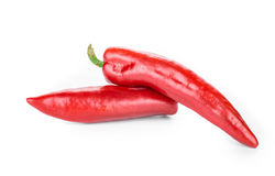 Red chili peppers. Stock Photo