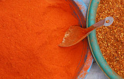 Red chili powder Royalty Free Stock Photo
