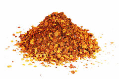 Red chilies powder Royalty Free Stock Photography