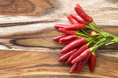 Red chilies Stock Photo
