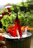 Red chilli Stock Photo