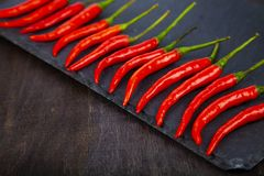 Red chilli pepper Stock Photos