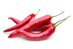 Free Red Chilli Pepper Isolated On A White Background. Royalty Free Stock Image - 120227466
