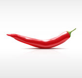 Red chilli pepper isolated Stock Photos