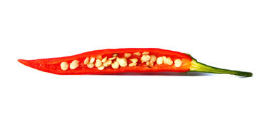 Red chilli pepper Stock Photo