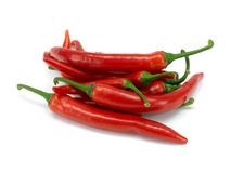 Red Chilli Peppers Stock Photos