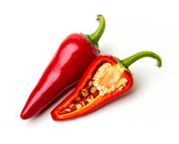 Red chilli peppers Royalty Free Stock Photo