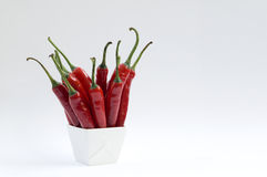 Red Chilli Peppers Royalty Free Stock Images
