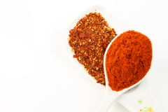 Red chilli powder Royalty Free Stock Photo
