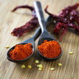 Red chilli powder Stock Photo