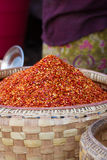 Red chilli powder Stock Image
