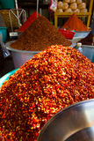 Red chilli powder Royalty Free Stock Photography