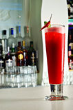 Red Chilli Spicy Cocktail Royalty Free Stock Images