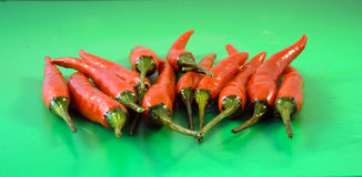 Red chillies Royalty Free Stock Images