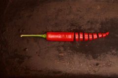 Red chillies Royalty Free Stock Photos