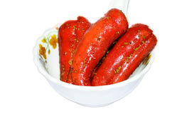 Red chill pickle  Royalty Free Stock Photo