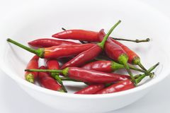 Red Chillis Stock Photos