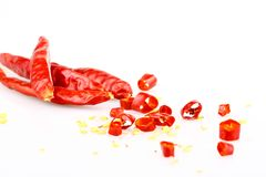 Red chilly pepper Royalty Free Stock Images