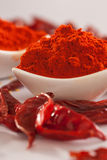 Red Chilly powder. Red Chilly powder is a spicy powder which is commonly used in indian cuisines Royalty Free Stock Photos