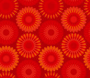 Red china flower abstract Royalty Free Stock Photos