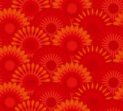Red china flower abstract Royalty Free Stock Photo