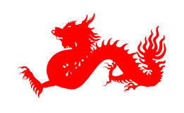 Red chinese dragon, Symbol of the year Royalty Free Stock Image