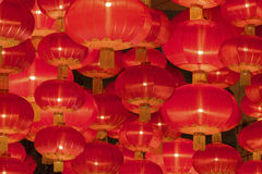 Red Chinese Lantern Royalty Free Stock Photography